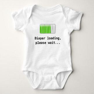 Diaper Loading T Shirts