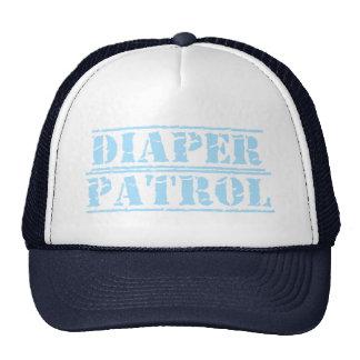 Diaper Patrol (Blue) Trucker Hat