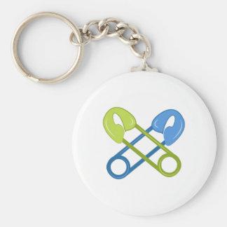 Diaper Pins Keychain