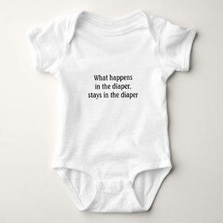 Diaper Secrets - Baby Humor Baby Bodysuit