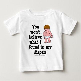 Diaper Surprise Baby T-Shirt