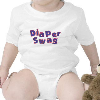 Diaper Swag (Blue & Red) Tees