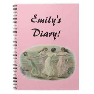 Diary Journal Notebook BFF girlfriends secrets fun