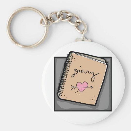 Diary Keychain