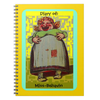 Diary of Miss-Behavin LOL Laughing Lady Journal