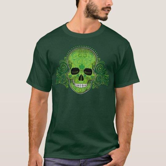 Dias_De_Los_Muertos_green_ap T-Shirt