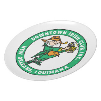 DIC Logo Melamine Plate