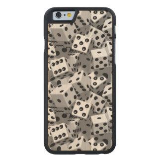 Dice Carved® Maple iPhone 6 Slim Case