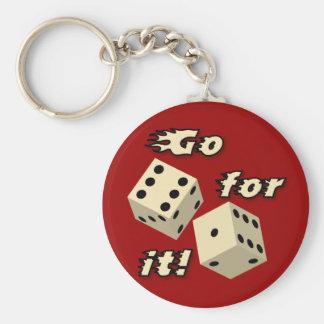 Dice Key Ring