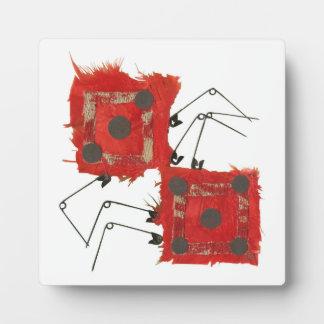 Dice Ladybird Easel Plaque