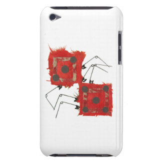 Dice Ladybug 4th Generation I-Pod Touch Case-Mate iPod Touch Case