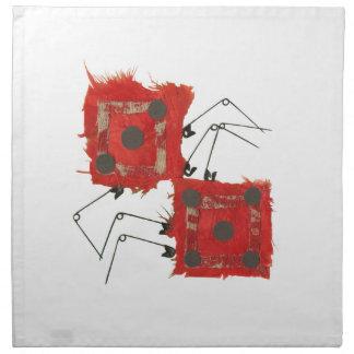 Dice Ladybug Cloth Napkin