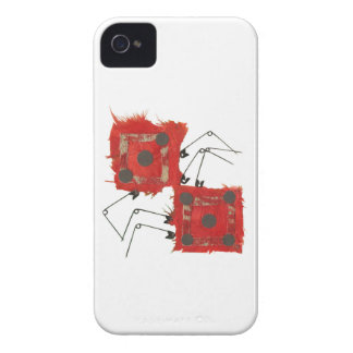 Dice Ladybug I-Phone 4 Case