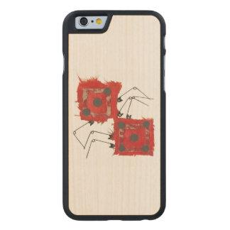 Dice Ladybug I-Phone 5/5S Wooden Case