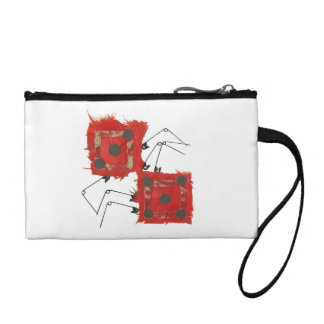 Dice Ladybug Key Clutch Bag