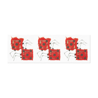 Dice Ladybug Long Canvas