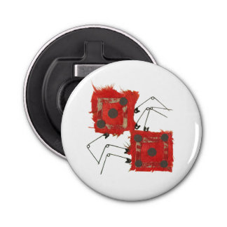 Dice Ladybug Magnetic Bottle Opener