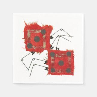 Dice Ladybug Napkins Paper Serviettes