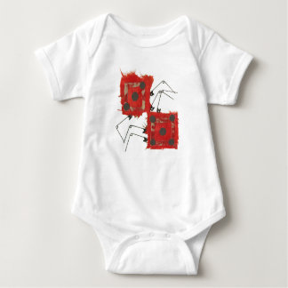 Dice Ladybug No Background Babygro Baby Bodysuit