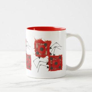 Dice Ladybug No Background Mug