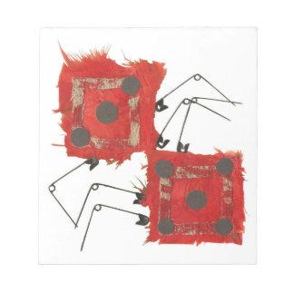 Dice Ladybug Notepad