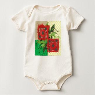 Dice Ladybug Organic Babygro Baby Bodysuit