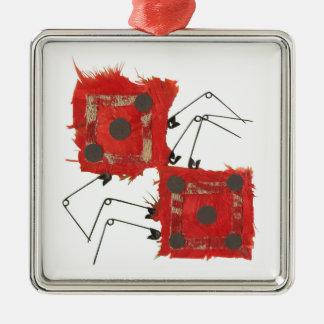 Dice Ladybug Premium Ornament