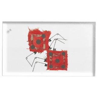 Dice Ladybug Table Card Holder