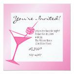 """Dice Martini 5.25"""" Square Invitation Card"""