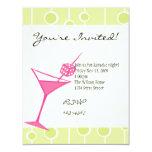 Dice Martini One Personalized Invites