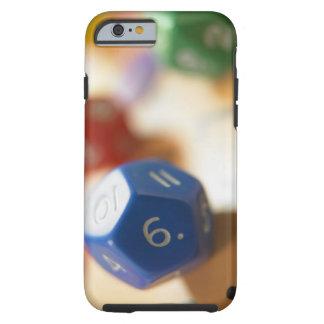 Dice on math game tough iPhone 6 case