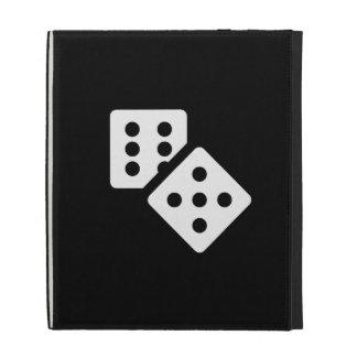 Dice Pictogram iPad Caseable Folio iPad Folio Case
