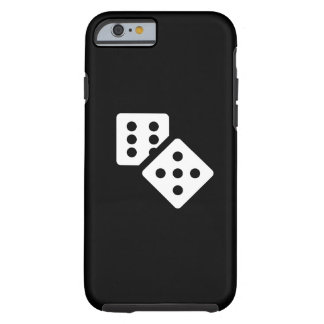 Dice Pictogram iPhone 6 Case Tough iPhone 6 Case