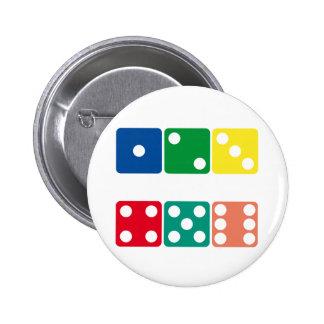 Dice Products & Designs! 6 Cm Round Badge