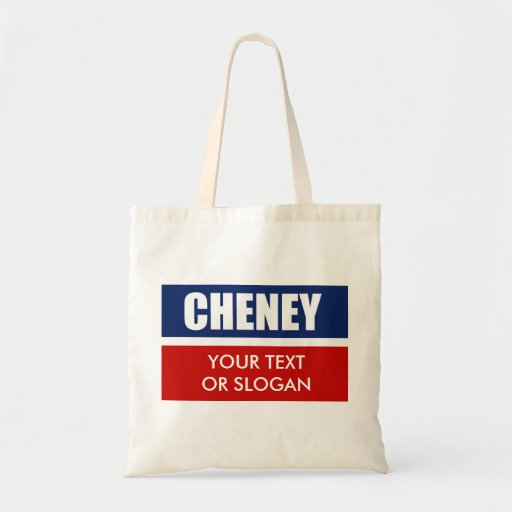 DICK CHENEY 2012 CANVAS BAG