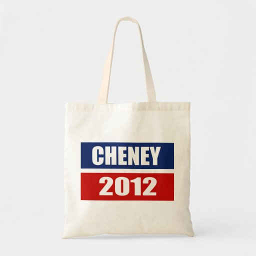 DICK CHENEY 2012 CANVAS BAGS