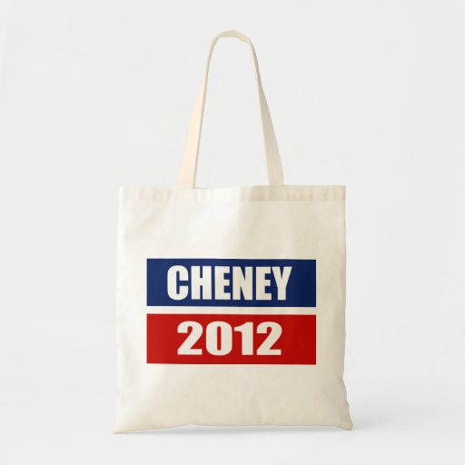 DICK CHENEY 2012 TOTE BAGS