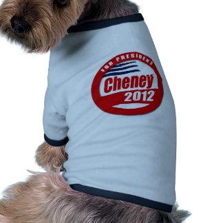 Dick Cheney 2012 Pet Tshirt