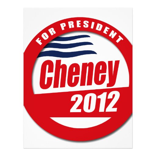 Dick Cheney 2012 Full Color Flyer