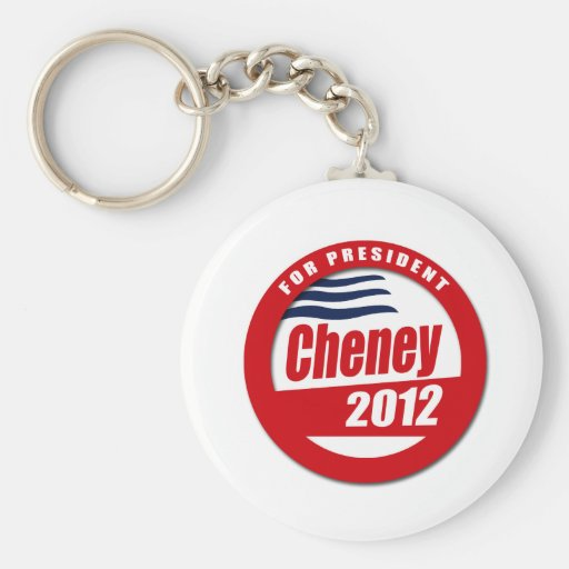 Dick Cheney 2012 Key Chains