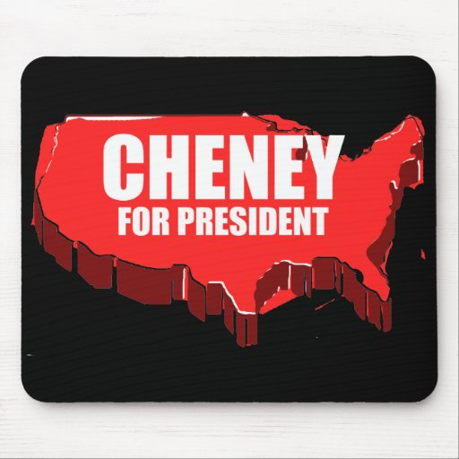 DICK CHENEY 2012 MOUSE PADS