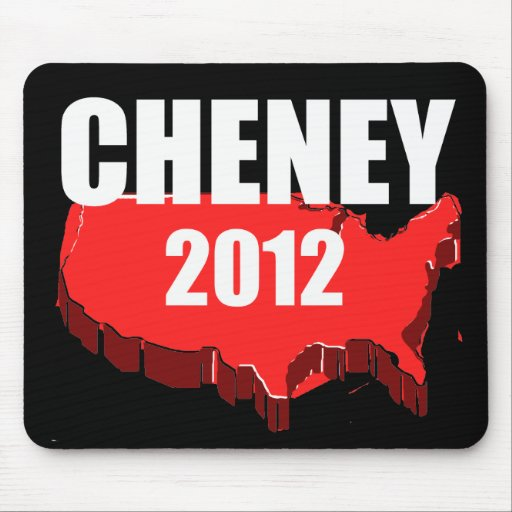 DICK CHENEY 2012 MOUSEPAD