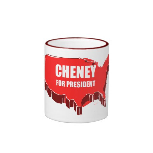 DICK CHENEY 2012 MUG