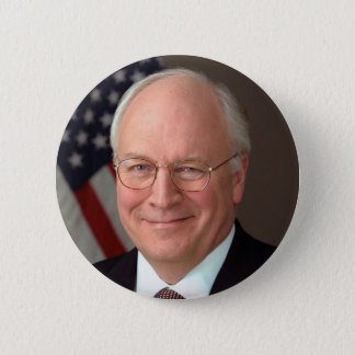 Dick Cheney 6 Cm Round Badge