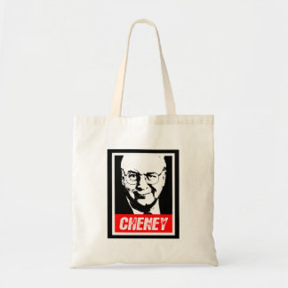 DICK CHENEY INK BLOCK.png Budget Tote Bag