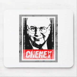DICK CHENEY INK BLOCK png Mouse Pads