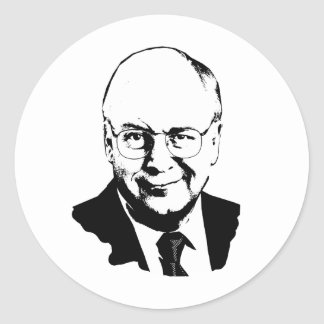 Dick Cheney.png Round Sticker