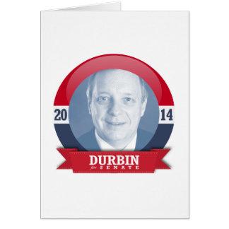 DICK DURBIN CAMPAIGN CARDS