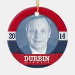 DICK DURBIN CAMPAIGN CHRISTMAS TREE ORNAMENT
