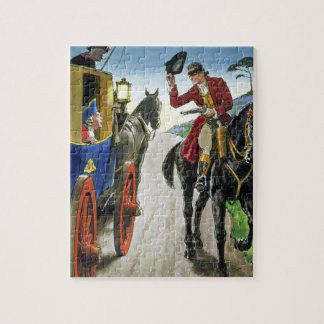 Dick Turpin (1706-39) from 'Peeps into the Past', Jigsaw Puzzle
